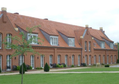 guest houses at the castle Meseberg