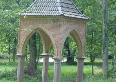 Jagdschloss Hubertusstock, Siegfriedbrunnen