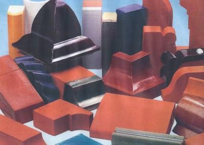 Verschiedene Formsteine